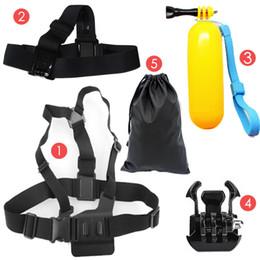 $enCountryForm.capitalKeyWord Australia - mount Sports Action Cameras Accessories Kit Head Chest Strap Floaty Bobber Mount For CAM 4000 SJ5000 SJ6 Legend SJ7 Star M20