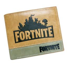 4 дизайн Fortnite Cosplay Кошелек с держателем карты Монета карманный подросток Короткие кошелек мультфильм игрушки для детей Подарочные сумки