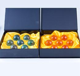 Dragon Ball 7 Estrelas Bola De Cristal Conjunto de 7 pcs Dragon Ball Z Bolas frete grátis DDA110 venda por atacado