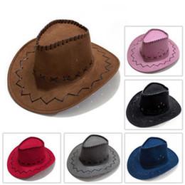 Sombrero de vaquero occidental Área turística Piel de pollo Gorros de viaje  Viajes Moda hombre y mujeres Sombreros de fiesta 4 3zr Ww b917a58567ee