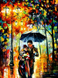 Diy Painted Picture Frames Australia - Framed Abstract Romantic Couple DIY Painting By Numbers Drawing By Painting Kits Painting Hand Painted On Canvas For Home Wall Art Picture