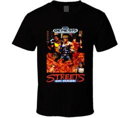 Genesis Games online shopping - Streets of Rage Video Game Sega Genesis Boxer Arter T Shirt T Shirt Discount Cotton T Shirt for Men S Summer