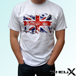Hip Hop Clothing Babies NZ - Great Britain flag - white t shirt top GB England design-mens womens kids baby Hip Hop Novelty womens men Clothing free shipping