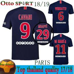 2018 paris NEYMAR JR jersey 18 19 CAVANI DANI ALVES DI MARIA Soccer jerseys psg  MBAPPE football shirt maillot de foot bigger Size S-3XL soccer jersey size  ... 13acb01a9