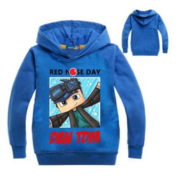 $enCountryForm.capitalKeyWord NZ - 2018 Roblox Shirt For Boys Sweatshirt Red Noze Day Costume Children Sport Shirt For Kids Hoodies Shirt Long Sleeve T-shirt Tops