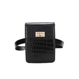 $enCountryForm.capitalKeyWord Canada - Alligator 2018 Latest Fashion Women Waist Pack PU Leather Belt Waist Bag Ladies Portable Phone Case Travel Belt Wallets Bolosa