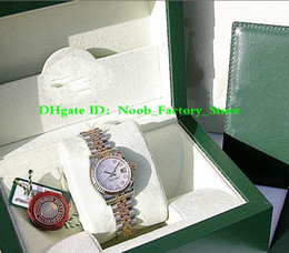 Mop diaMond online shopping - NEW Factory Sales MM automatic movement LADIES SS K YELLOW GOLD WHITE MOP DIAMOND DATEJUST with original box
