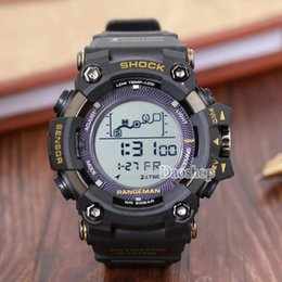 3e00f73667c Men PRW Sports Electronic chronograph wristwatch ga 100 110 Men s g Watch  Big Dial Digital waterproof LED male shock Wrist Watches
