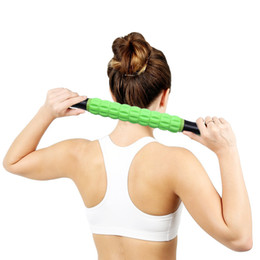 body massage roller 2019 - Body Muscle Roller Massage Relax GYM Exercise Roller Leg Body Arm Back Shoulder Muscle athlete Relief Myofascial Release