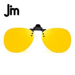 f6d12411dee JM Retro Clip on Rimless Sunglasses Polarized Flip up Lenses Eyeglasses Men  Women Sun Glasses