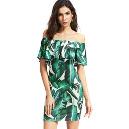 2017 amazon speed sale on ebay new spring summer sales print off-the-shoulder  pendant lace dress women s clothes pop ca9b558e73cd