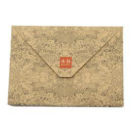 $enCountryForm.capitalKeyWord UK - Retro Kraft Paper Envelope Postcard Greeting Card Cover Brown Kraft Paper Envelope Stationery Zakka School Supplies 10pcs