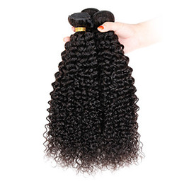 Wholesale 1 quot quot Virgin Human Indian Hair Extensions For Short Hair Afro Kinky Curly Hair Weave G
