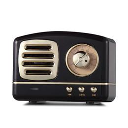 $enCountryForm.capitalKeyWord UK - HM11 Retro Radio Bluetooth Speaker Vintage Mini Bluetooth Speaker Nostalgic heavy Bass 3D Stereo Surround HiFi Sound Effects black