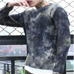$enCountryForm.capitalKeyWord Australia - 2018 New Fashion Trend Mens Hoodies Mens Personality Camouflage Suit Long-Sleeve Street Style Shirts Camouflage Color Casual Loose Tops