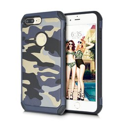Camouflage Iphone Hard Case Australia - Camouflage Hybrid Armor Case TPU PC 2in1 Hard Back Phone Cover For iPhone XS MAX X 7 8 Samsung S9 Huawei P20