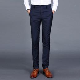 $enCountryForm.capitalKeyWord Australia - 2018 Fashion Design Men's Pants Trouser Skinny Pants Male Dress Business Casual Leisure Long Classic Pant Joker Cotton Trouser