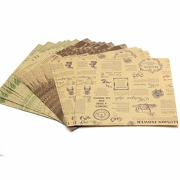 $enCountryForm.capitalKeyWord UK - 6 Patterns Double Sided Origami Craft Paper 120 Sheets DIY Folded Papers Vintage Clipbook Paper Cards Gifts Packing Paper Decor