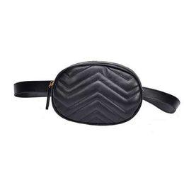 Toptan satış MOLAVE Bel Çantası Fanny Paketi Katı Bel Paketleri Fermuar Moda Kadın Saf Renk Deri Messenger Omuz Çantası Göğüs Çantası Jul25PY