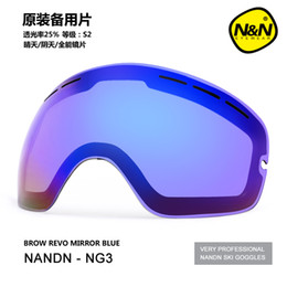 166516f39df Night Ski Goggles Canada - NANDN Professional Exchengeable Lens Night  Vision Graced Lens Big Spherical Men