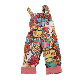 $enCountryForm.capitalKeyWord Australia - Cute Monsters Pattern Jumpsuit Playsuit Overalls Trousers for 1 4 BJD SD DZ Clothes