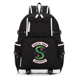 China Unisex Riverdale Backpack Students School Bagpack Men Backpack Women Laptop Backpacks Male Travel Bags 36-55 Litre supplier male laptop bags suppliers