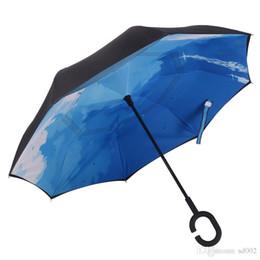 $enCountryForm.capitalKeyWord UK - Novelty Deck Windproof Umbrellas Folding Inverted Umbrella Men And Women Outdoor Portable Rain Gear Ultraviolet Proof Small 35 kk cc