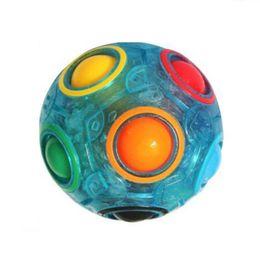 $enCountryForm.capitalKeyWord UK - Decompression Toy Plastic Hot Sale Magic Power Luminous Rainbow Ball The Explosion Adult Reduced Pressure Toy 8 8yc W