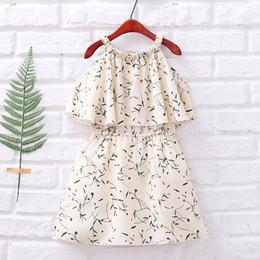 9b92e19705a Dresses 12 Years Old NZ - Baby Girls Dress Summer 2018 Fashion Children  Clothing Kids Flower