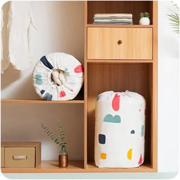 Food Divider NZ - Home Clothes storage Cotton flower Large Space Organizer Bed Under Closet Storage Box Clothes Divider Organiser Quilt Bag Holder Organizer