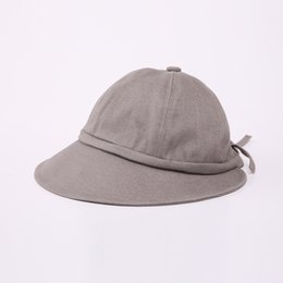 a176b916534 Bucket Camping Hats UK - 2018 NEW Winter Wool Hat Knitted Bucket Hats for Women  Foldable