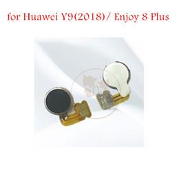 Discount phone vibrator motor - for Huawei Y9(2018)  Enjoy 8 Plus Vibrator Module Ribbon Flex Cable Motor Vibration Cell Phone Repair Spare Parts Test Q