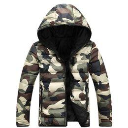 $enCountryForm.capitalKeyWord NZ - Camouflage Blouson Jacket Women 2016 Winter Coat Womens Jackets and Coats Manteau Veste Femme Manche Longue Lovers