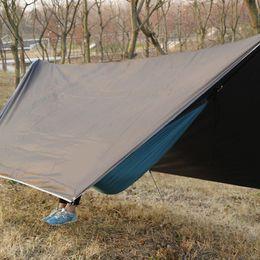 $enCountryForm.capitalKeyWord NZ - Free Shipping Outdoor Portable Multi-purpose Canopy Hammock Waterproof Sunscreen Awning Shade Tent Hammock Canopy