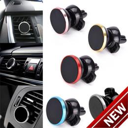 Magnetic Air Vent Mount car holder car Phone Holder for Mobile Smartphone Stand Magnet Support Cellphone mount car holder DHL Free Shipping on Sale