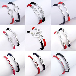 $enCountryForm.capitalKeyWord Canada - Lovers bracelet student sterling silver s925 red rope jewelry 520 Valentine s day gift wholesale