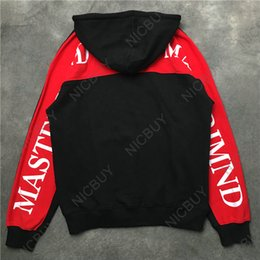 clothes japan 2019 - fashion luxury brand clothing mens hoodies designer mastermind japan mmj skull letter patchwork Europe pullover hooded s