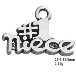 family word charm NZ - Family member number 1 piece word charm