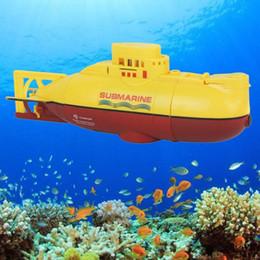 Mini Submarino RC Ready To Run Modelo de lancha rápida de alta potencia 3.7 V Grande al aire libre El juguete eléctrico de control remoto