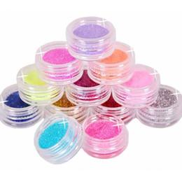 $enCountryForm.capitalKeyWord Canada - BEST 12 Color Metal Glitter Nail Art Tool Kit Acrylic Powder Dust