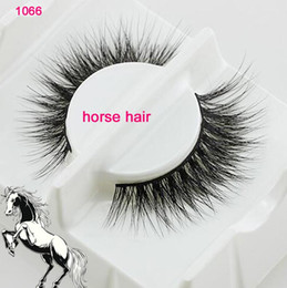 Top False Eyelashes Australia - 1066 Top Handmade eyelashes Beautiful eyelashes natural messy Horse hair false eyelashes Thick Soft Eye Lashes Black Long False Eye lashes