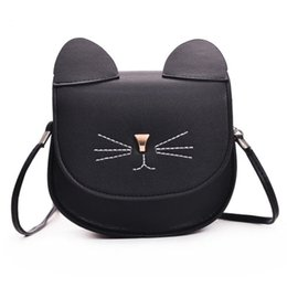 $enCountryForm.capitalKeyWord NZ - Women's Small Crossbody Handbag Purse Bag Cute Cat Shoulder Wallet Bag Strap