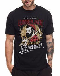 Black Cutters Australia - Lumberjack T Shirt Wood Cutter Chopper Beard Summer Casual Man T Shirt Good Quality Top Tee 2018 New Arrival Funny