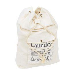 $enCountryForm.capitalKeyWord UK - Drawstring Canvas Storage Bag Laundry Bag Storage Travel Stuff Bags Organizer
