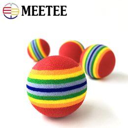 $enCountryForm.capitalKeyWord NZ - Pet rainbow striped bubble dog toy cat rainbow ball pet supplies wholesale stock Training dog ball