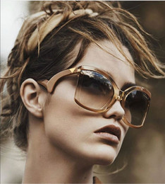 Unique Sunglasses Brands Australia - SOLO TU Trend Oversized Unique Bent Legs Sun Glasses Brand Designer Women Female Personality Street Snap Cosy Sunglasses Oculos D18102304