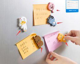 $enCountryForm.capitalKeyWord Canada - Fridge magnet creative cute cartoon animal refrigerator magnet stick decoration stickers on the blackboard sticky notes refrigerator magnets
