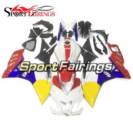 Rs 125 abs faiRing kit online shopping - Free Gifts Motorcycle ABS Plastic Sportbike Complete Fairings For Aprilia RS125 RS Bodywork Red Yellow White Body Kit