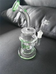 $enCountryForm.capitalKeyWord NZ - Nexus Puck Glass Bongs 2 Function Solid Glass Water Pipes Hookahs Fab Egg Klein Recycler Oil Rigs Hookahs Smoking Pipes Free Shipping