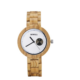 natural solar UK - 2019 new year gift women man running sport minimalist wooden watches with luxury natural wood